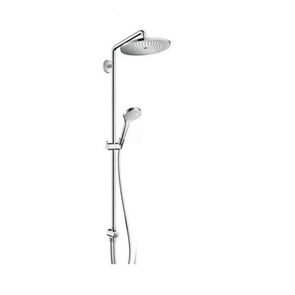 hansgrohe reno croma 280 colonne de douche 1 jet sans mitigeur 26793000. Black Bedroom Furniture Sets. Home Design Ideas