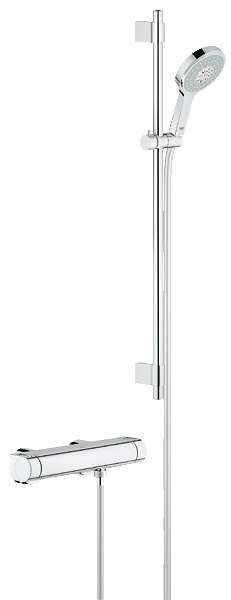 "Grohe Grohtherm 2000 Mitigeur thermostatique Douche 1/2"" 34482001"